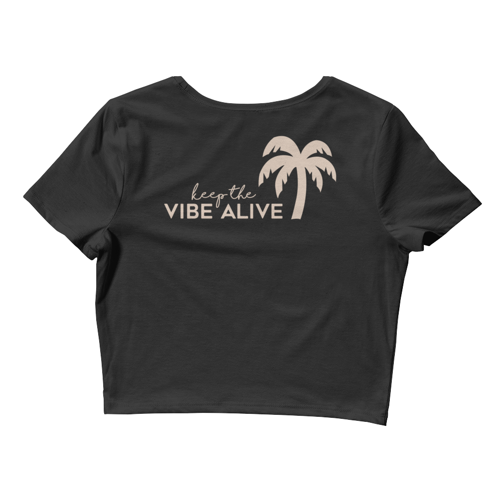 Palm Tree KTVA Crop Top - Darty Co.®