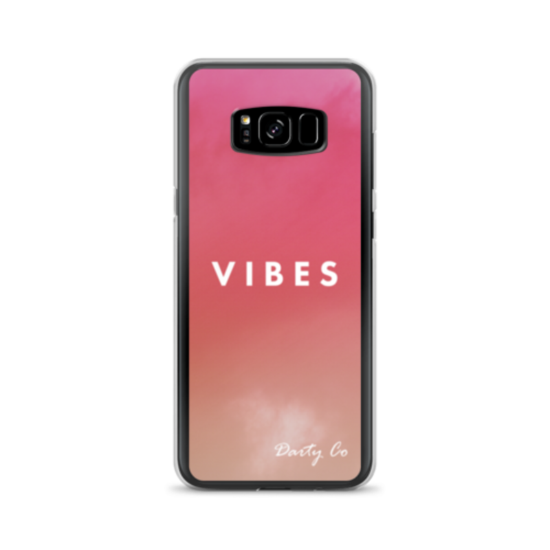 Peach VIBES Phone Cases