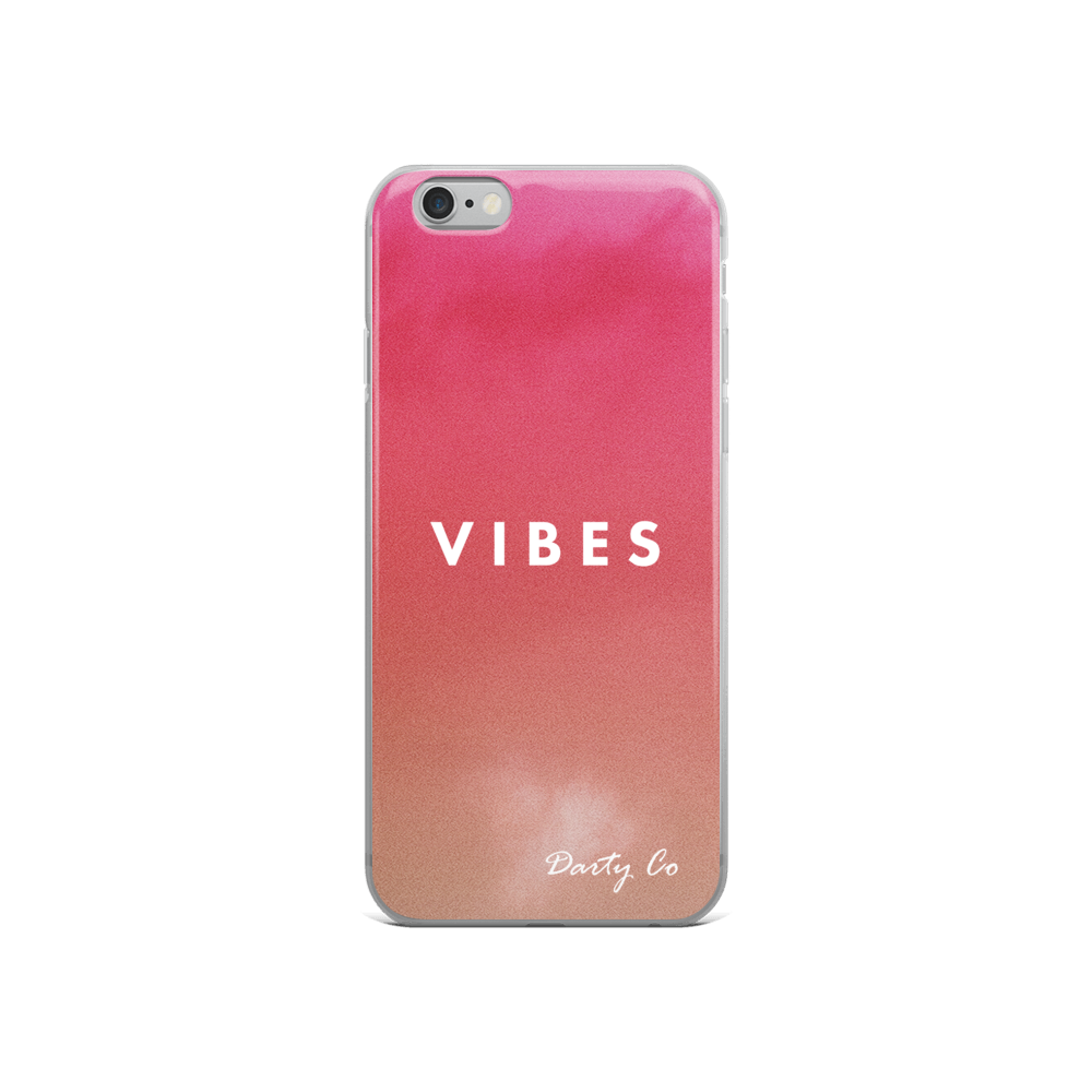 Peach VIBES Phone Cases - Darty Co.®