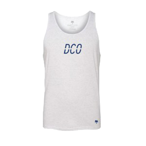 Men's White DCO Tank - Darty Co.®