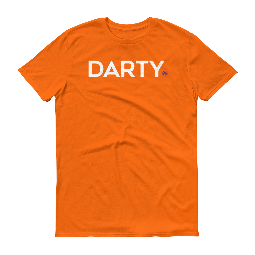 White w/ Purple Logo T-Shirt - Darty Co.®