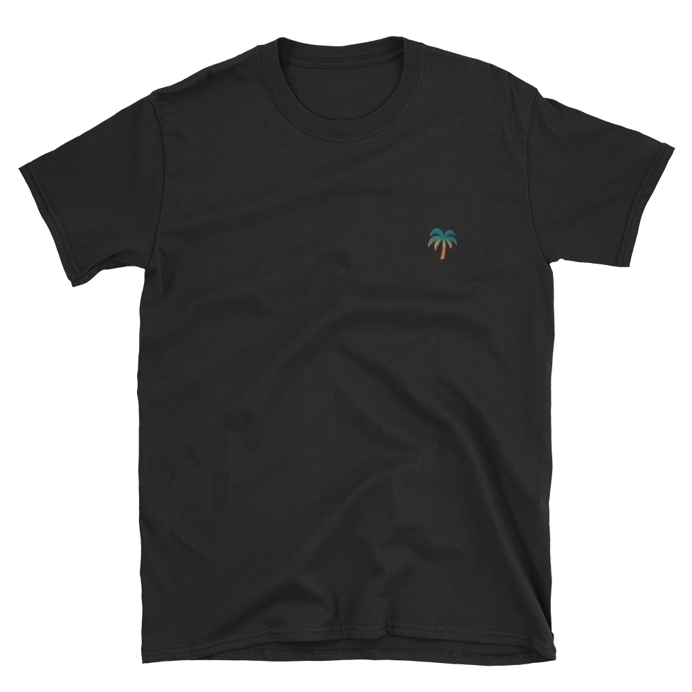 Signature Ocean Palm Tree Logo®️ Short-Sleeve Unisex T-Shirt