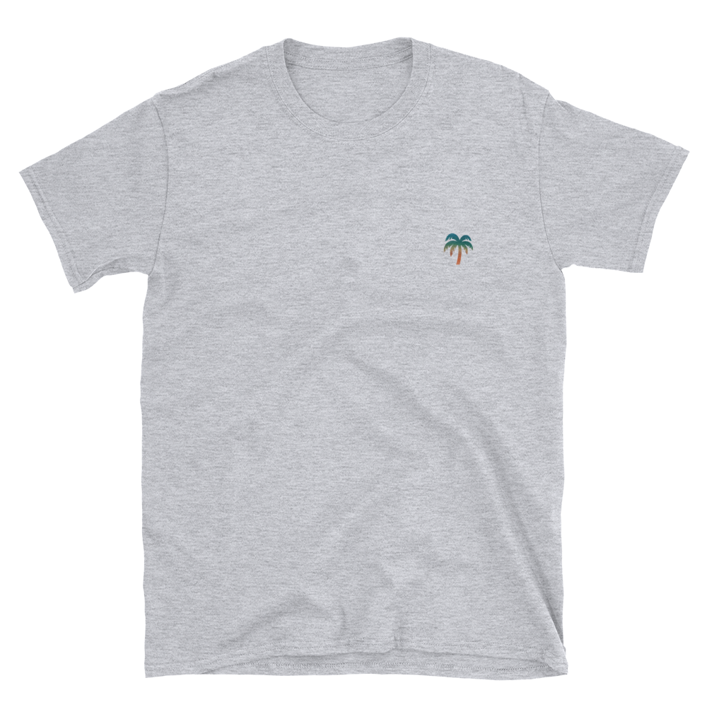 Signature Ocean Palm Tree Logo®️ Short-Sleeve Unisex T-Shirt - Darty Co.®