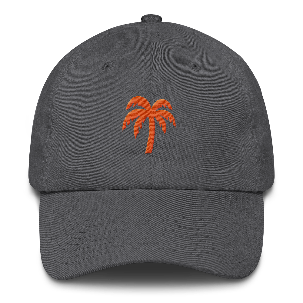 Orange Cotton Cap