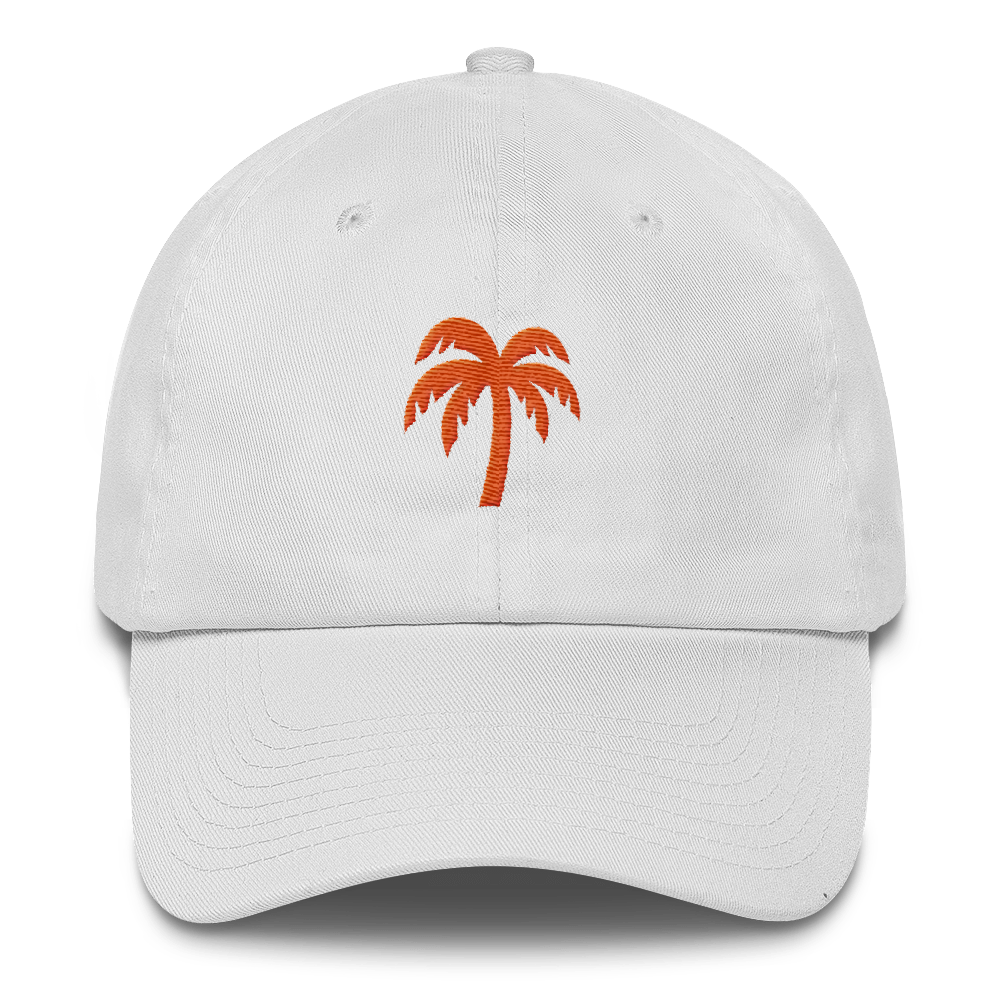 Orange Cotton Cap - Darty Co.®