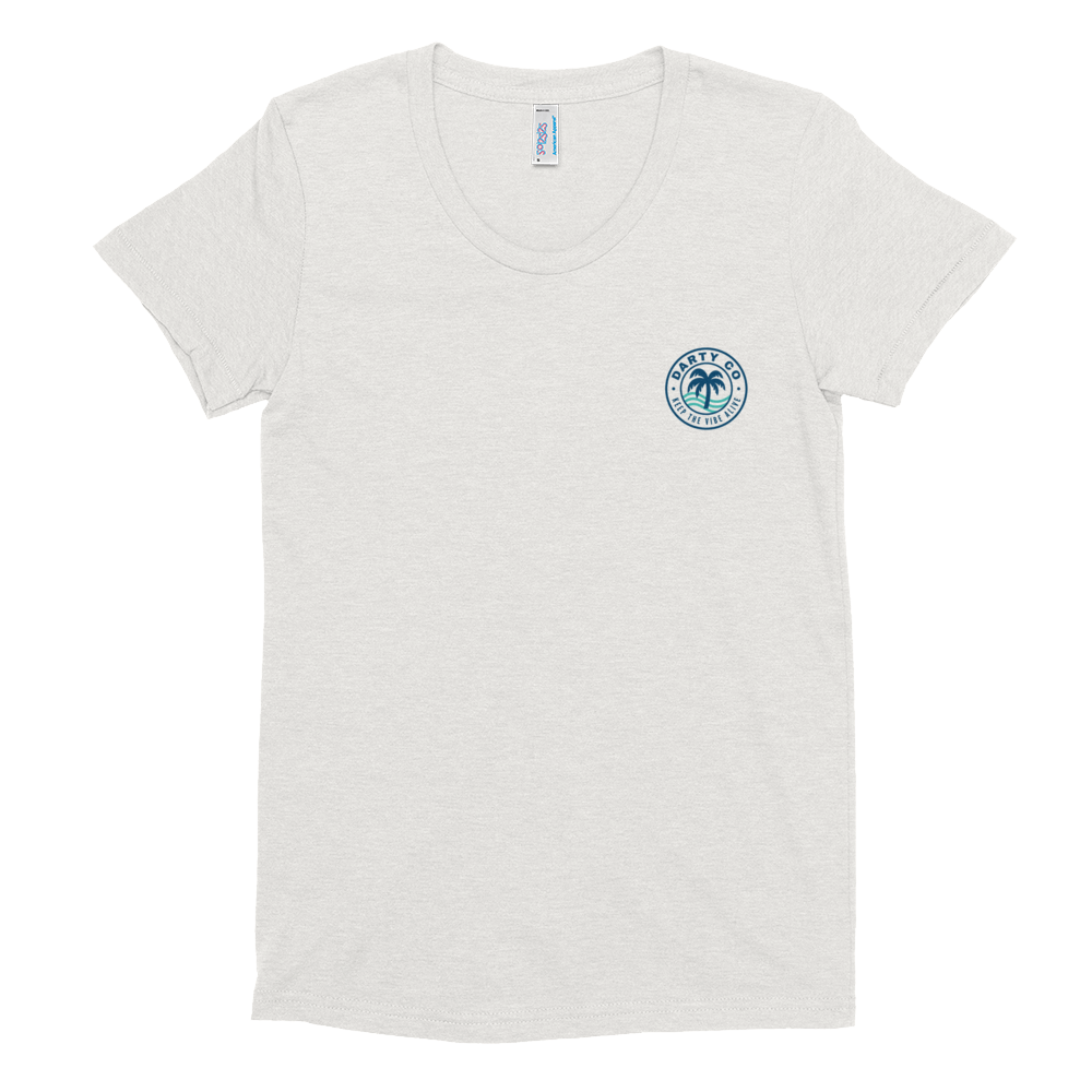 Women's Ocean Darty Co.®️ Crew Neck T-shirt - Darty Co.®