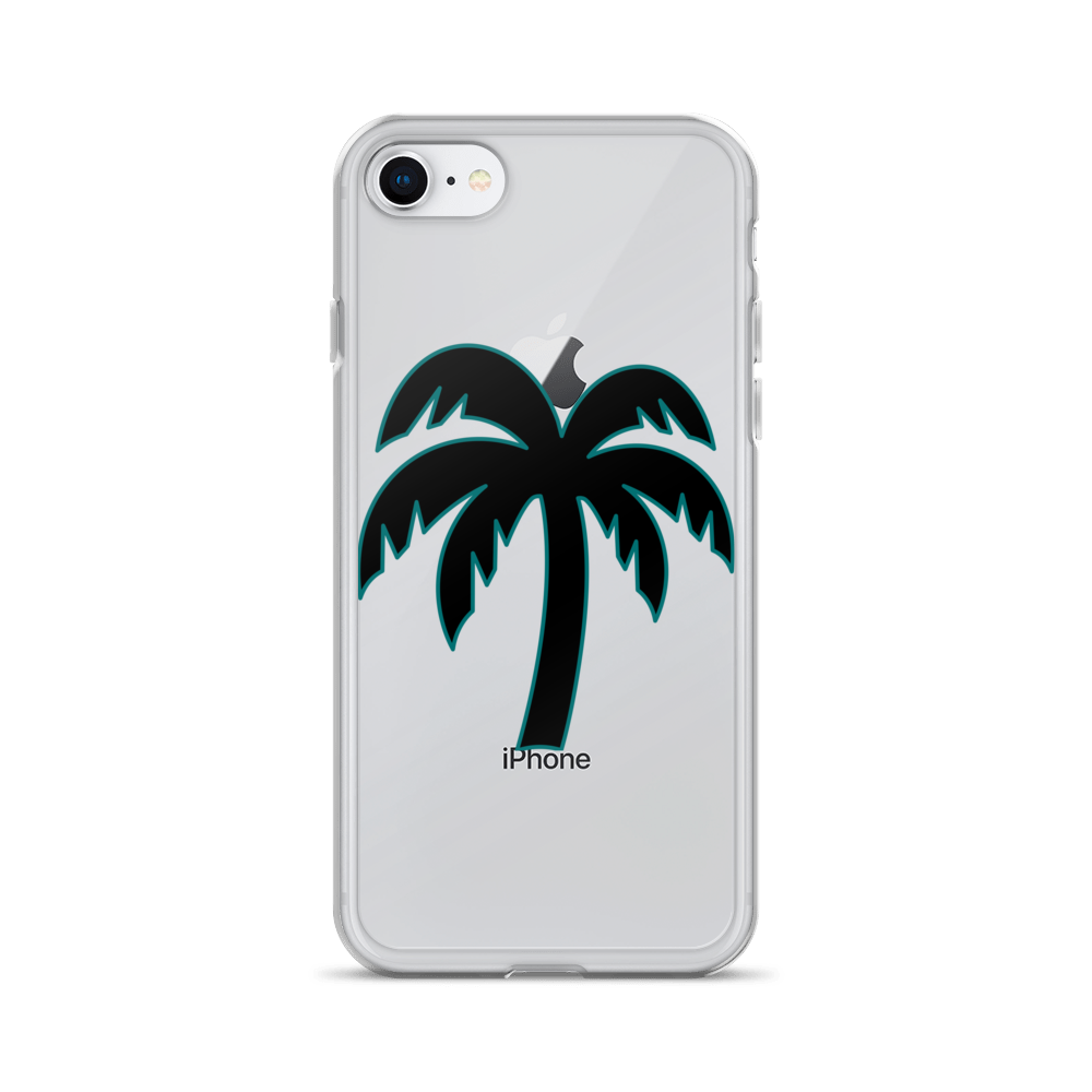 Black - Teal Phone Case