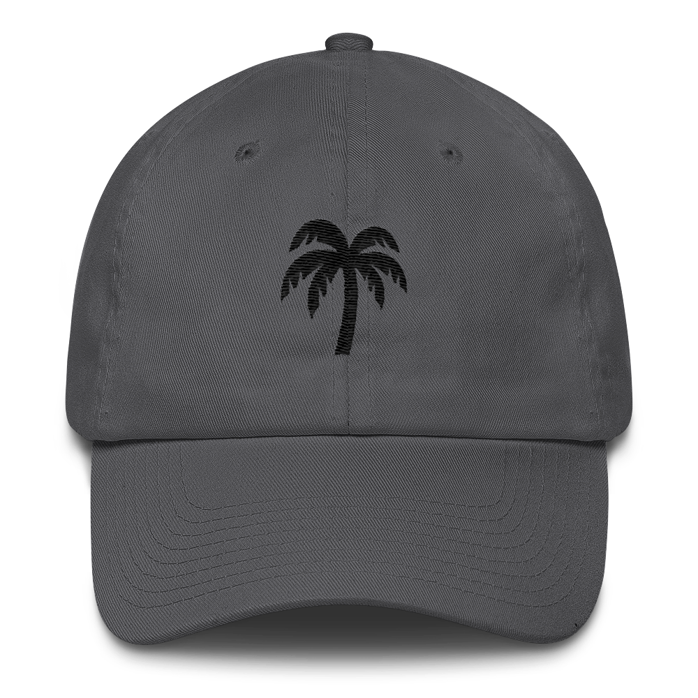 Black Cotton Cap - Darty Co.®