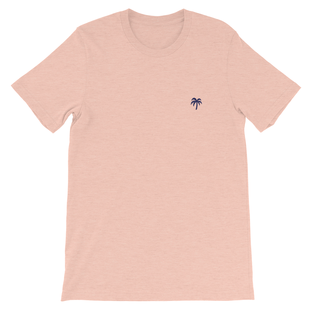 Signature Navy Blue Palm Tree Logo®️ Short-Sleeve T-Shirt