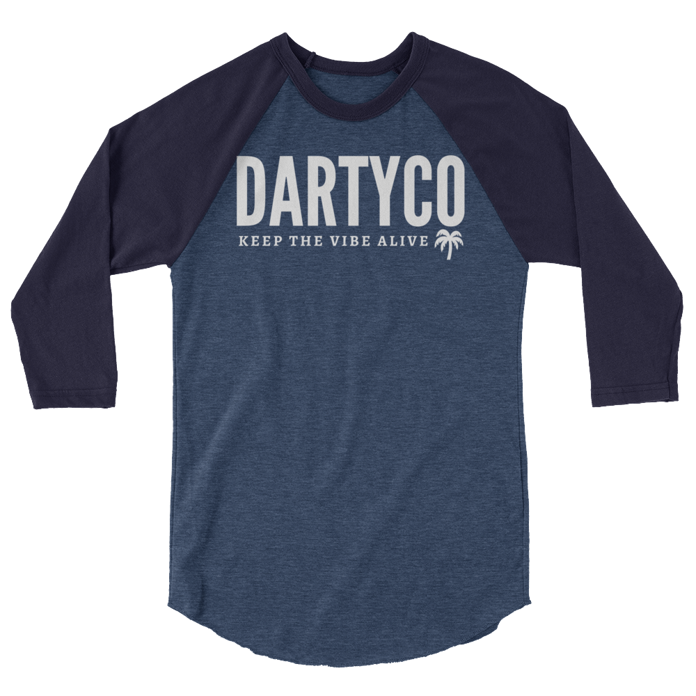 3/4 sleeve Darty Co.®️ Raglan Shirt - Darty Co.®