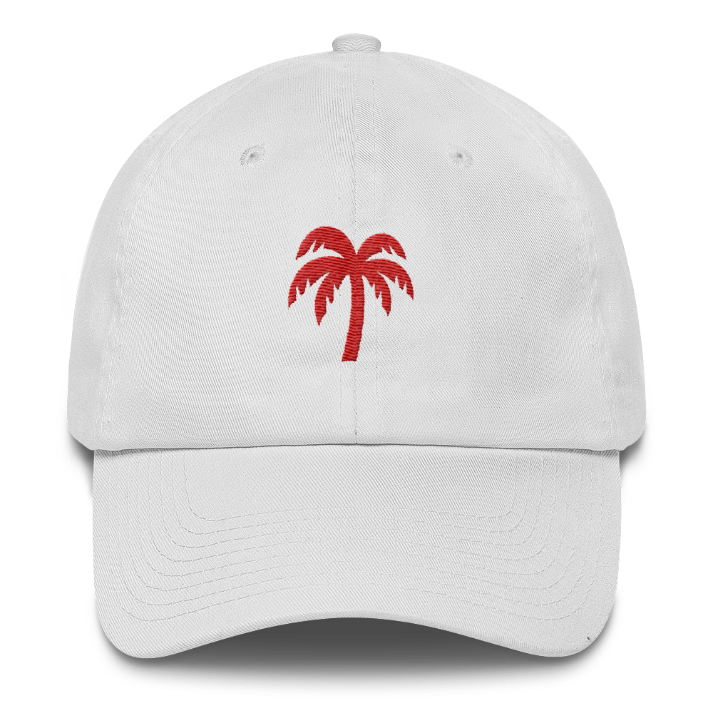 Red Cotton Cap - Darty Co.®