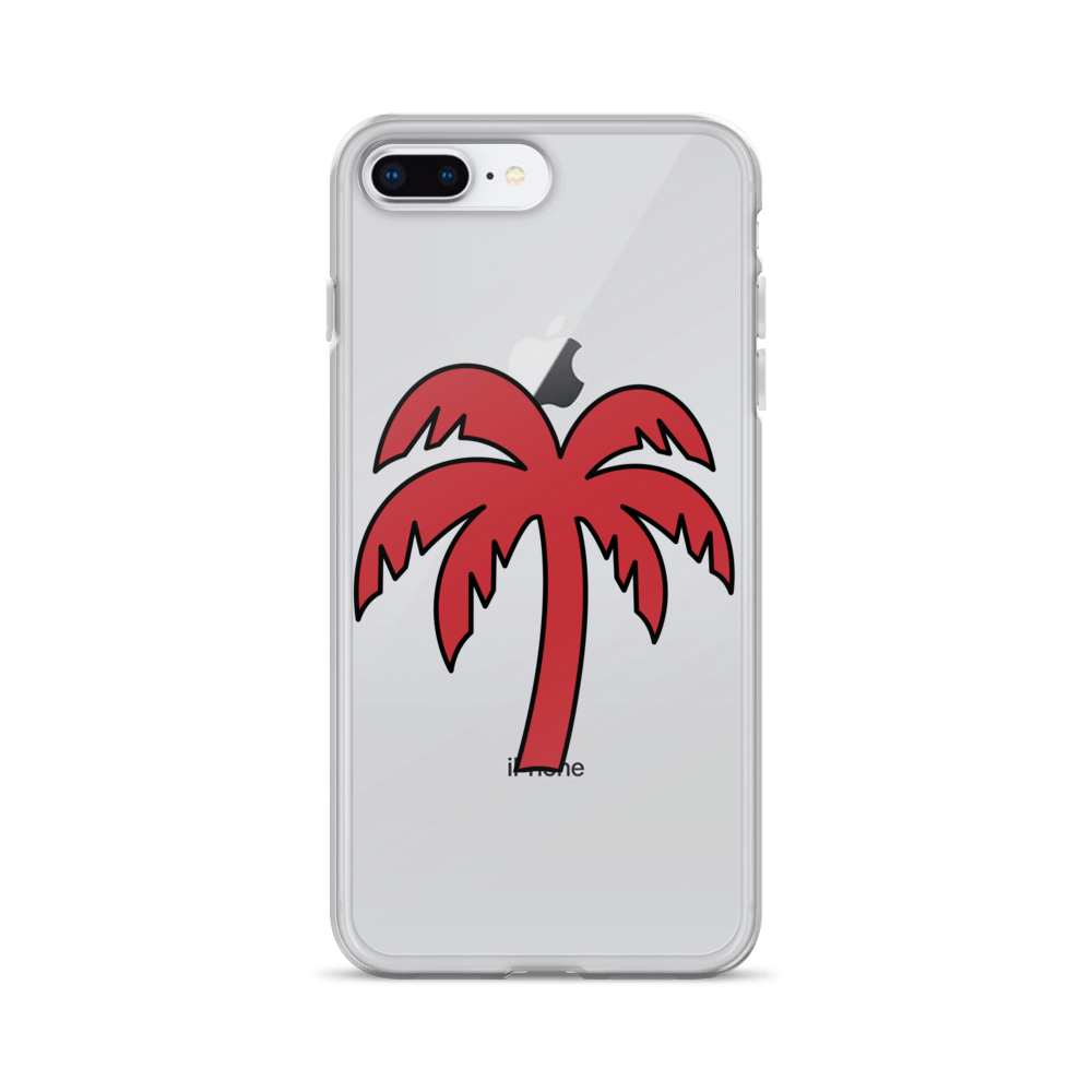 Red - Black Phone Case