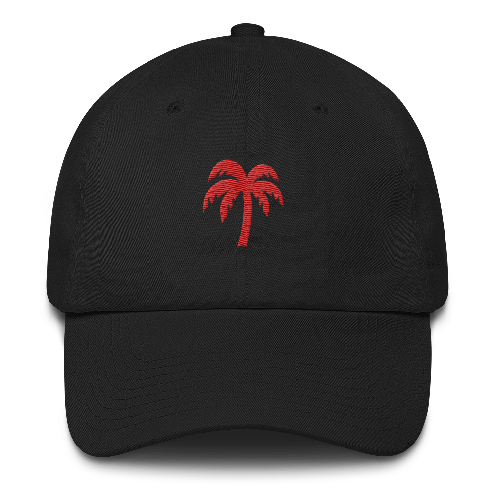 Crimson Cotton Cap