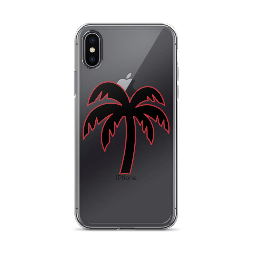 Black - Red Phone Case