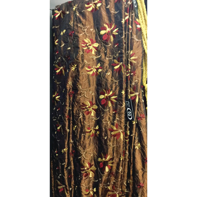 Clearance Brown Curtain
