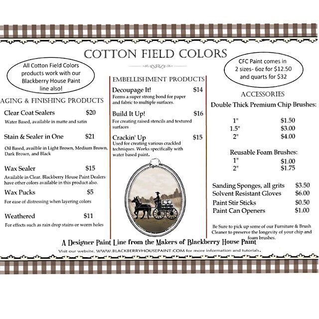 Cotton Field Colors Black Stain