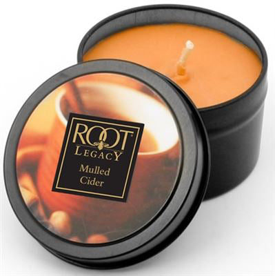 Root Mulled Cider Size Tin Can Other