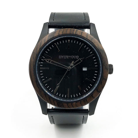 Unisex Everwood Walnut Watch