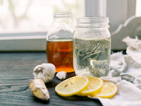 Best Immunity and Detox Tea with lemon and giger and garlic