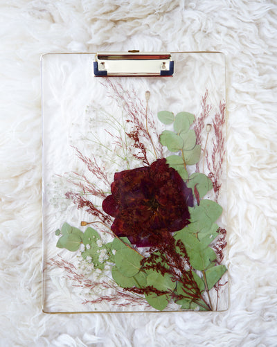 Red Rose Clipboard