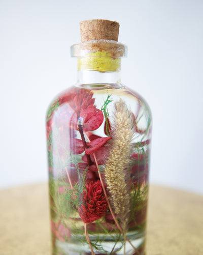 Holiday Petals Jar