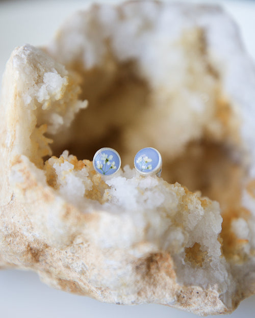 Oceans Run Deep Stud Earrings