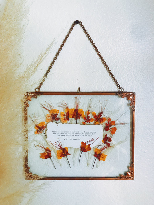 Custom Pressed Flower Frames