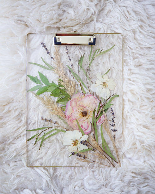 Blooming Roses Clipboard