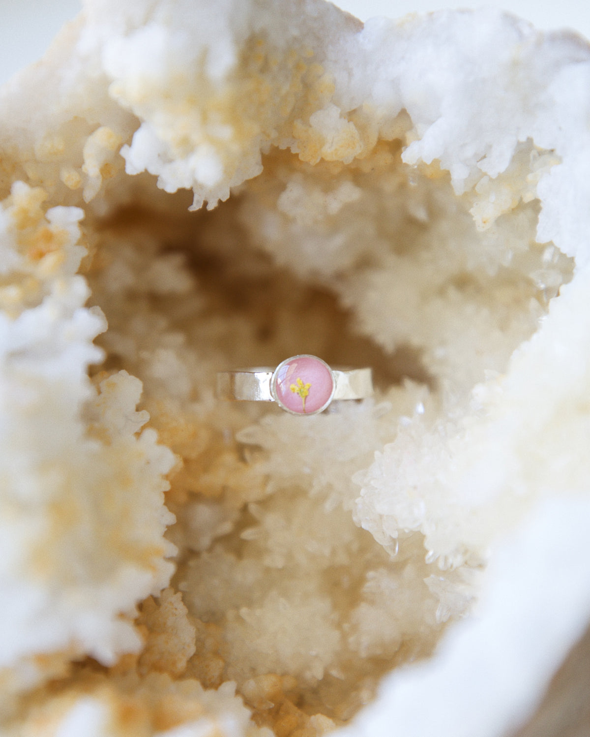 Pink Sunrise Ring