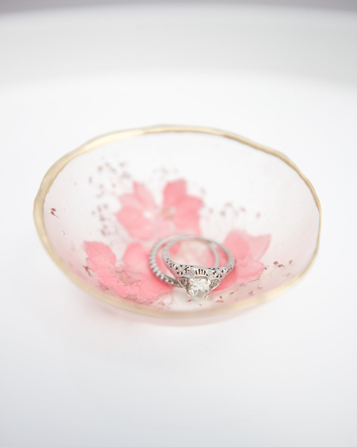 Blushing Jewelry Dish