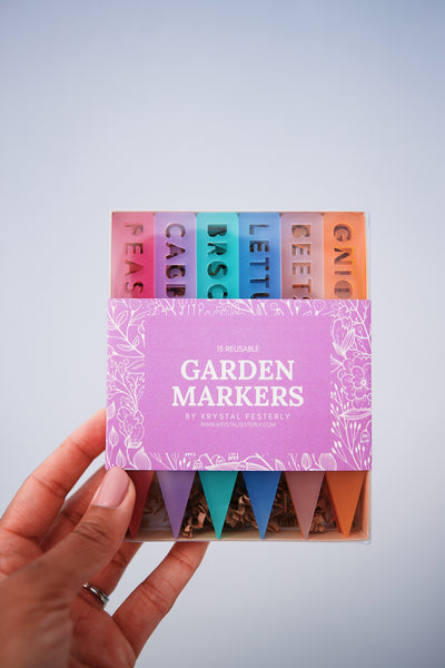 Colorful Garden Marker Set