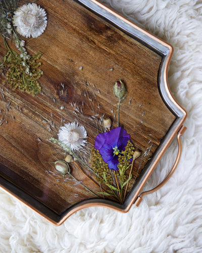 Viola Breakfast Tray