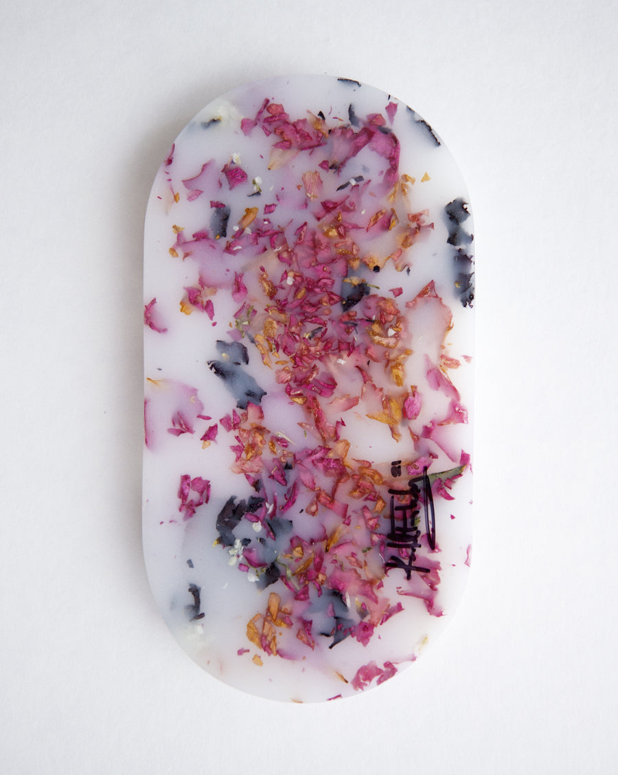 Floral Marble Catch-all Tray