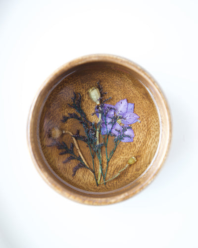 Purple Pond Jewelry Dish
