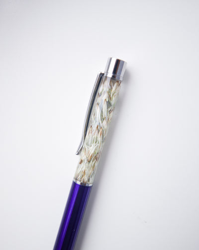 Dark Purple Grass Pen
