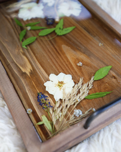 Little Roses Serving Tray