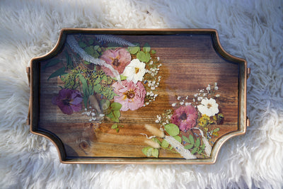 Roses Breakfast Tray