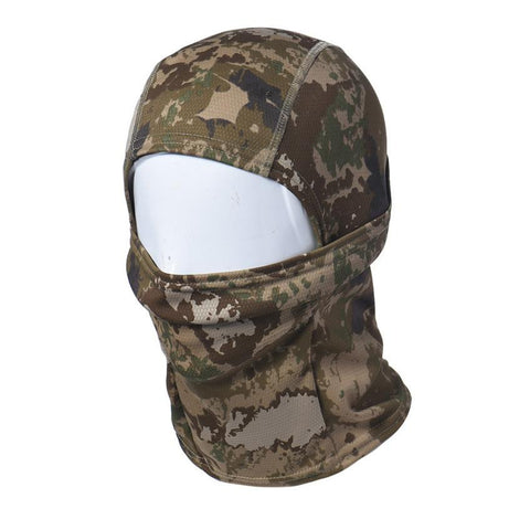 Camouflage Army Full Face Head