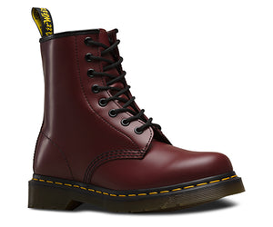 1460 8-Hole Smooth - Cherry Red - Joe's Boots - Kingston