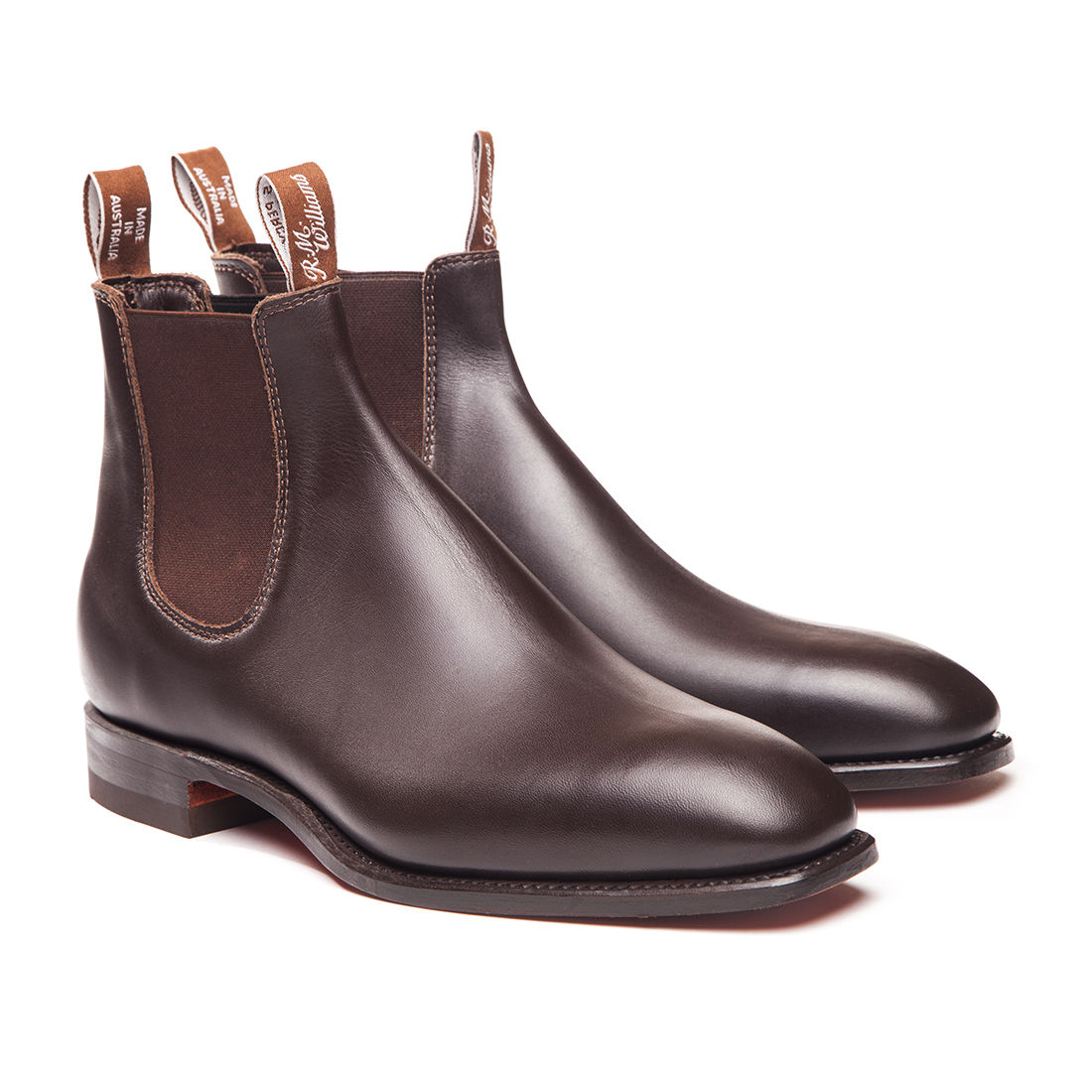 Classic Craftsman - Chestnut - Joe's Boots - Kingston