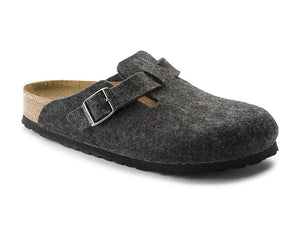 Boston Wool Felt in Anthracite