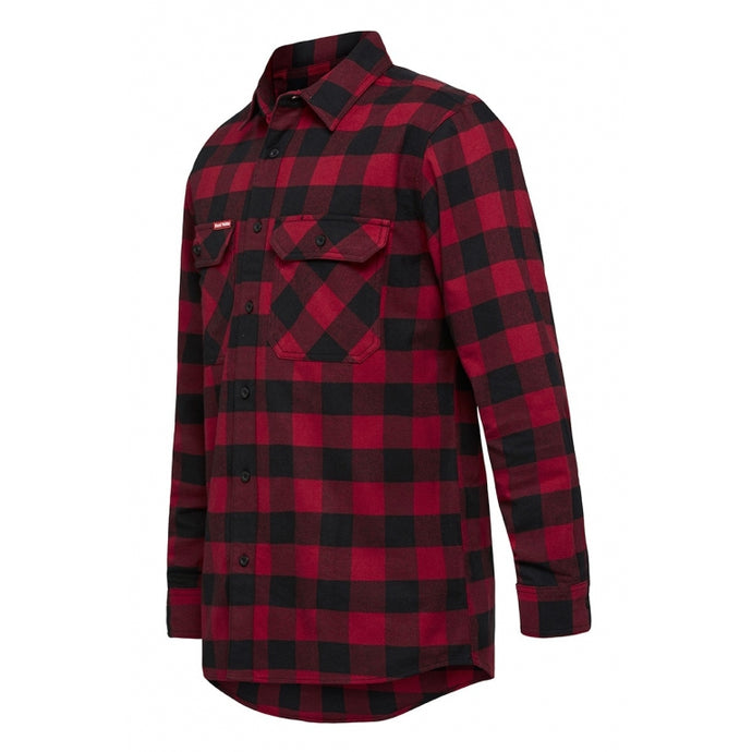 Y07295 Foundations Check Flannel Long Sleeve Shirt