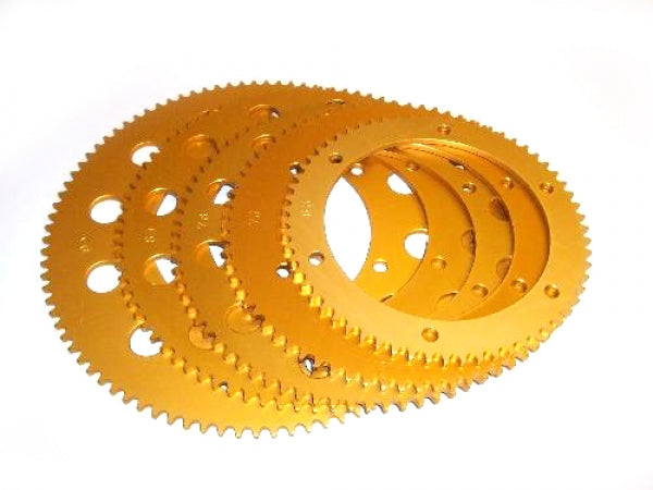 Sprocket-Talon 67T Gold Anodised