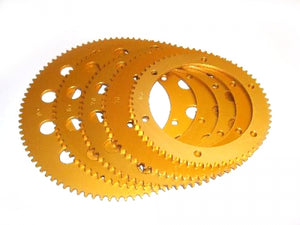 Sprocket-Talon 65T Gold Anodised