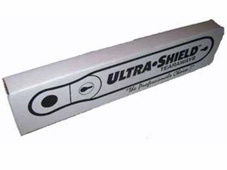 Ultra shield tear off