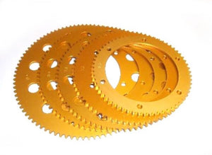 Sprocket-Talon 98T Gold Anodised