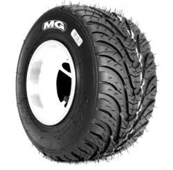 Tyre MG WT - White **New Wets**  4.5 Front  Inc AKA Royalty