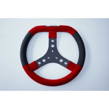 Steering Wheel KG Dieses Red & Black
