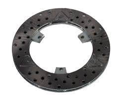 Brake Disc Front 125 Shifter L/H X3-X4 MRC 160mm O.D. 10mm Thick