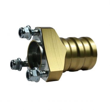 Wheel Hub Front 17 x 75mm Goldtek Gold Inc Bearing, Studs, Nuts